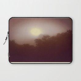 Foggy Autumn Morning Laptop Sleeve