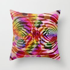 residual heat of our universe Throw Pillow