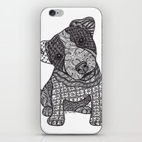 jack russell iPhone & iPod Skins featuring Jack Russell by DiAnne Ferrer