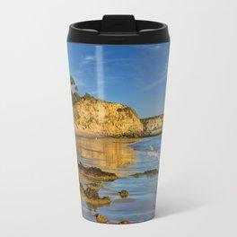 Olhos d'Agua in winter, Portugal, Travel Mug