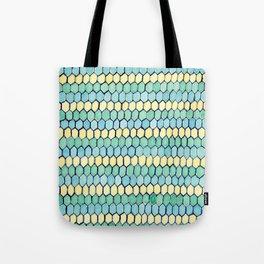 Watercolour Honeycomb Tank Top Tote Bag