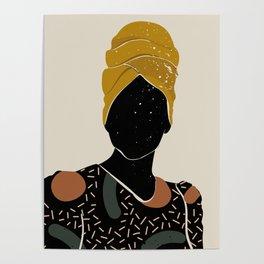 Black Hair No. 10 Poster