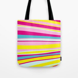 abstract stripes Tote Bag