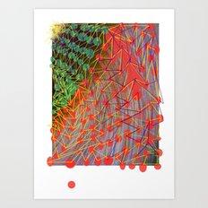 Christmas Pleff Art Print