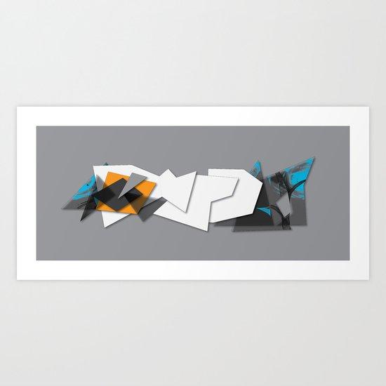 graf_dmrdart Art Print