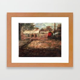 Back House Framed Art Print