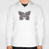 wings Hoodies featuring Wings by Lorri Leigh Art