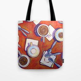 The Get Together ... Kitchen Coffee Cup Art Tote Bag