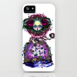 Beasts of Botanica - Black Mourning Bride's Extravagant Wedding iPhone Case