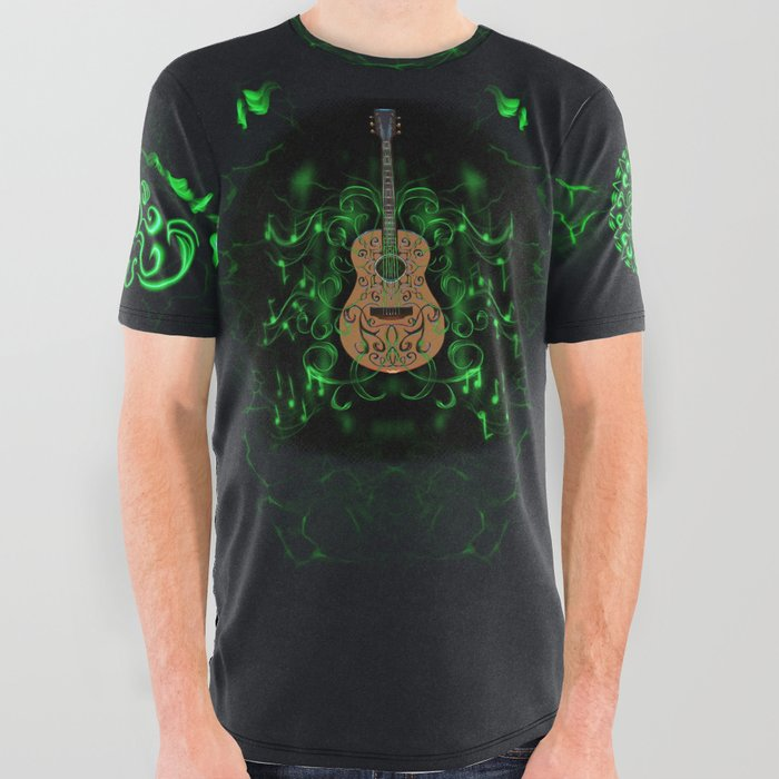 Guitar_mandala_All_Over_Graphic_Tee_by_BFaucher_Art__Large