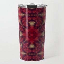 Kaleidoscope .The red morning. Travel Mug