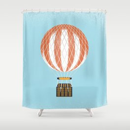 Montgolfier Shower Curtain