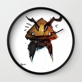 Goomba Evolution Fanart Wall Clock