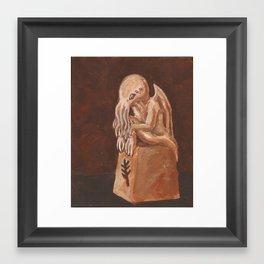 Cthulhu Idol Framed Art Print