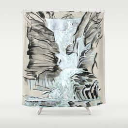 Local Gem # 5 - Lick Brook Shower Curtain