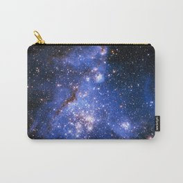 Blue Embrionic Stars Carry-All Pouch