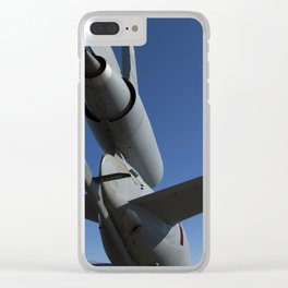KC10 KC-10 Military Refueling Airplane/Aircraft USAF Clear iPhone Case