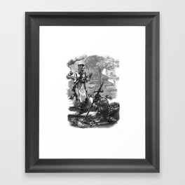 Call to Arms Framed Art Print