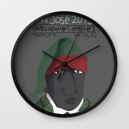 August 29th Forcado Poster Wall Clock