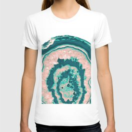 Melon Agate - Summer Vibes Gem #2 #gem #decor #art #society6 T-shirt