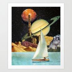 Orinoco Flow Art Print