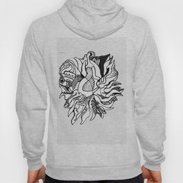 Abstraction of the Heart Hoody