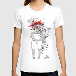 the tattooed girl T-shirt