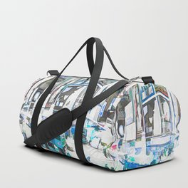 Times Square II (colour sketch style) Duffle Bag