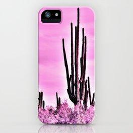 Wild Cactus iPhone Case