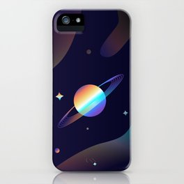Holographic Galaxy iPhone Case