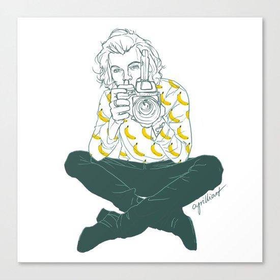 Banana Boy Canvas Print