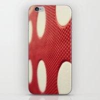 polka dot iPhone & iPod Skins featuring Polka dot by Losal Jsk