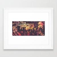 sopranos Framed Art Prints featuring The Sopranos (in memory of James Gandolfini) by Nechifor Ionut