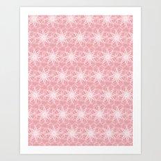 PAISLEYSCOPE dandelion Art Print