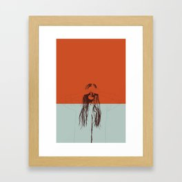 Woman Color 2 Framed Art Print