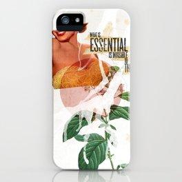 Invisible Essentials iPhone Case