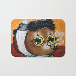 the portrait of kitty van gogh Bath Mat
