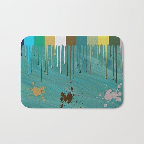 Messy Painter Bath Mat
