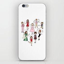 Kristen Wiig Characters iPhone Skin