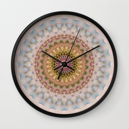 MANDALA NO. 21 #society6 Wall Clock