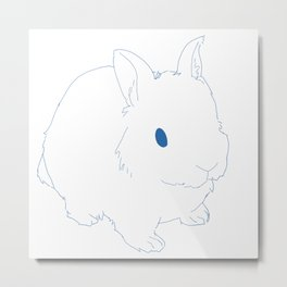 Fun Bun Metal Print