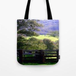 Cattle Yard Tote Bag