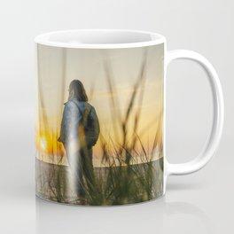 Beautiful sunset on the beach Coffee Mug