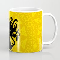 yoga Mugs featuring Yoga by BLOOP