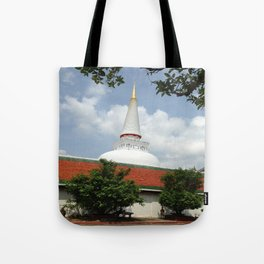 BUDDHIST CENTER Tote Bag