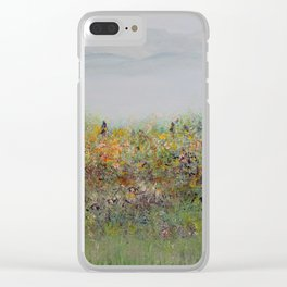 Field of Inspiration Clear iPhone Case