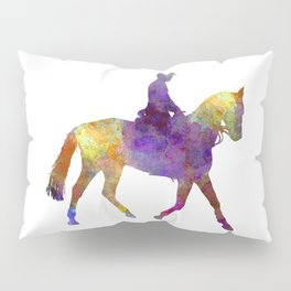 Horse show 04 in watercolor Pillow Sham