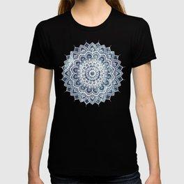 Pleasure White On Blue Marble T-shirt