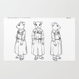 Character design for Eun Ae Rug