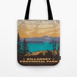 Vintage poster - Killarney Provincal Park, Canada Tote Bag